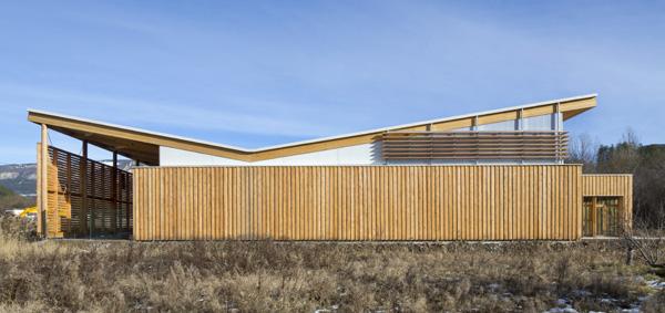 Agence d 39 architecture fr d ric nicolas projets for Architecture en bois